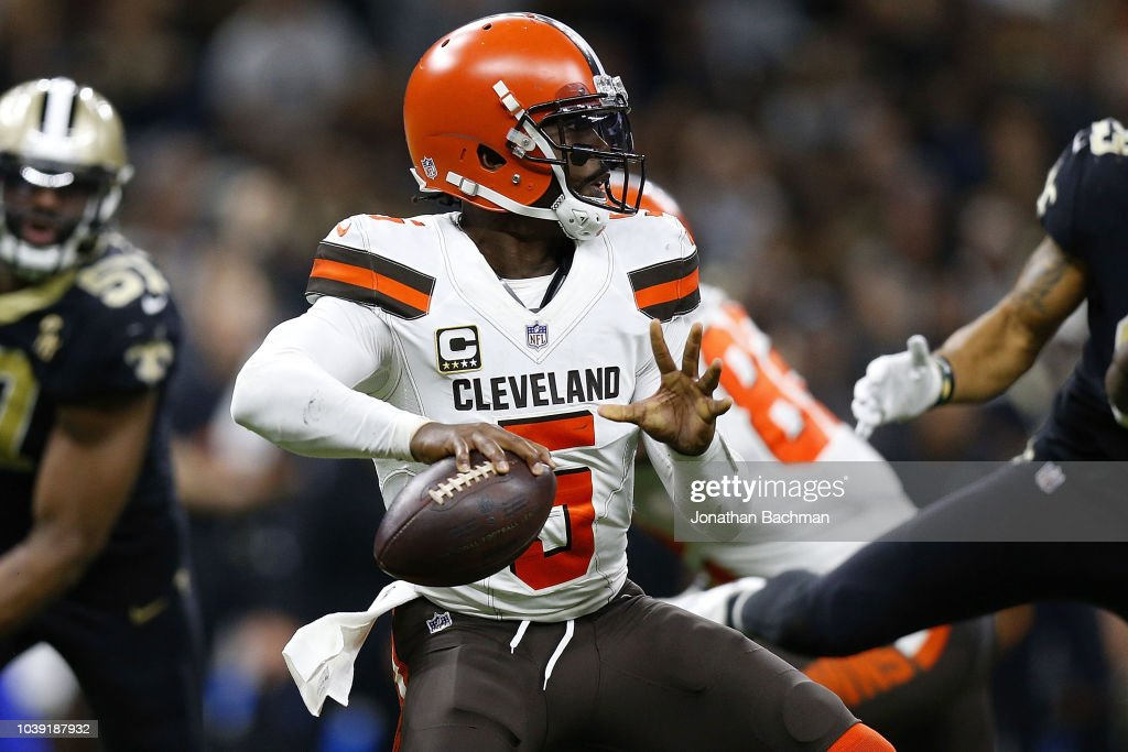 Cleveland Browns v New Orleans Saints : News Photo