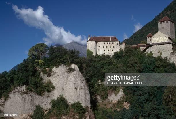 Tyrol castle Tyrol Santa Cristina Gherdeina TrentinoAlto Adige Italy 11th century