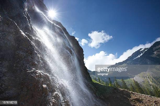 Tyrolienne cascade