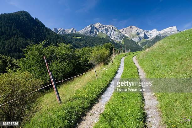 tyrolean mountain view