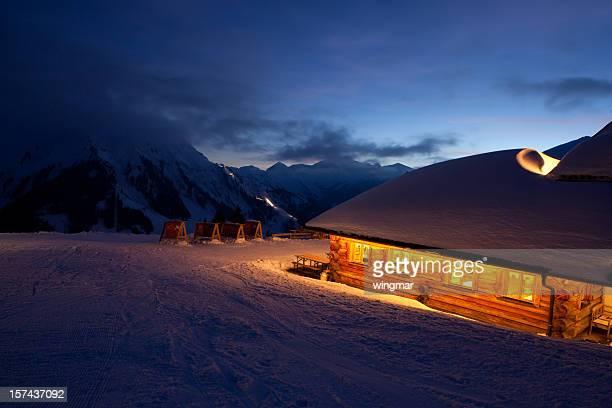 Tyrolien cabine d'hiver