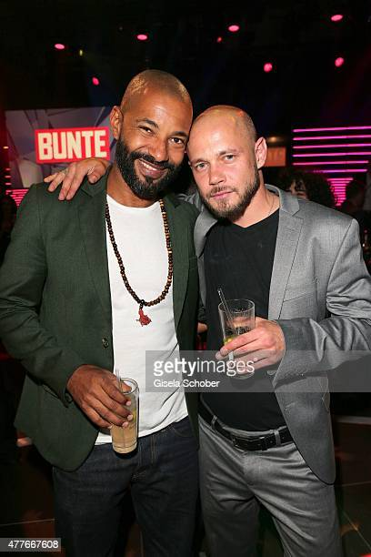 Tyron Ricketts Antonio Wannek during the New Faces Award Film 2015 at ewerk on June 18 2015 in Berlin Germany