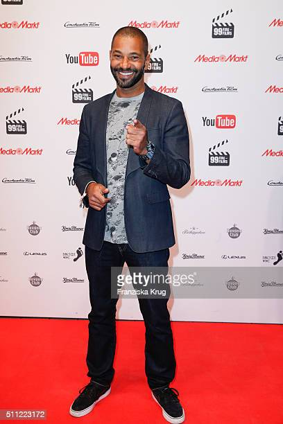 Tyron Ricketts attends the 99FireFilmAward 2016 at Admiralspalast on February 18 2016 in Berlin Germany