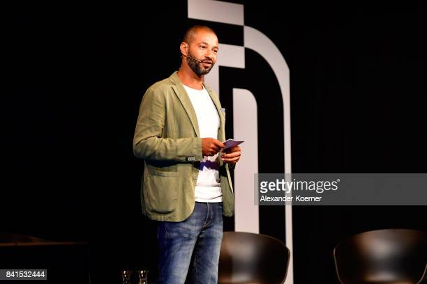 Tyron Ricketts attends the 'The Fall and Rise of a Refugee' panel talk during the Bread Butter by Zalando at Festsaal Kreuzberg on September 1 2017...