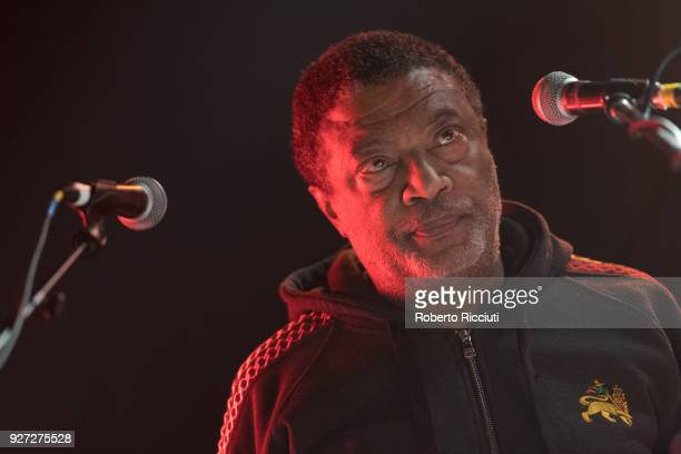 Tyrone Downie of The Wailers performs on stage at O2 ABC Glasgow on March 4 2018 in Glasgow Scotland