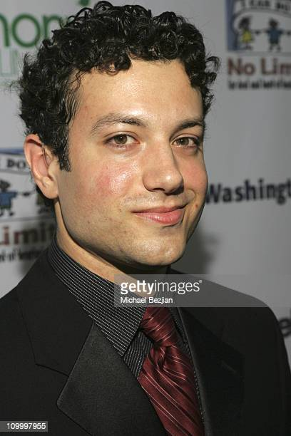 Tyrone Giordano during Harmony with No Limits Premiere Gala Presented by Washington Mutual - April 21 2006 at Skirball Cultural Center in Los...