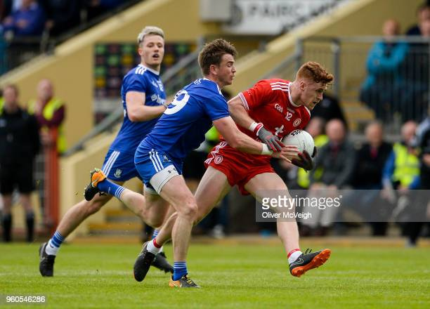 Tyrone Ireland 20 May 2018 Conor Meyler of Tyrone in action against Dessie Mone of Monaghan during the Ulster GAA Football Senior Championship...