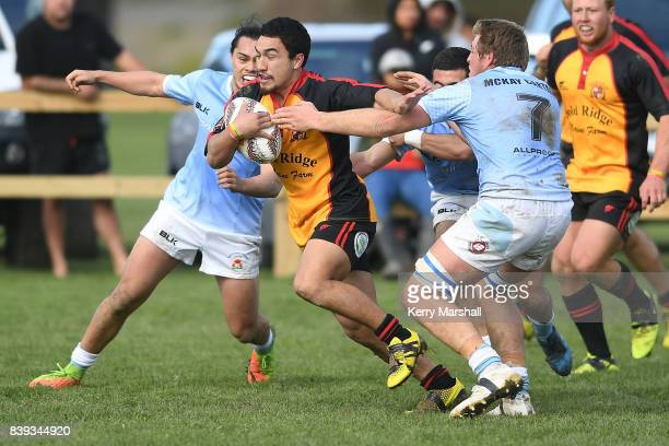 Tyrone Keith of Thames Valley trybound during the round one Heartland Championship match between East Coast and Thames Valley on August 26 2017 in...