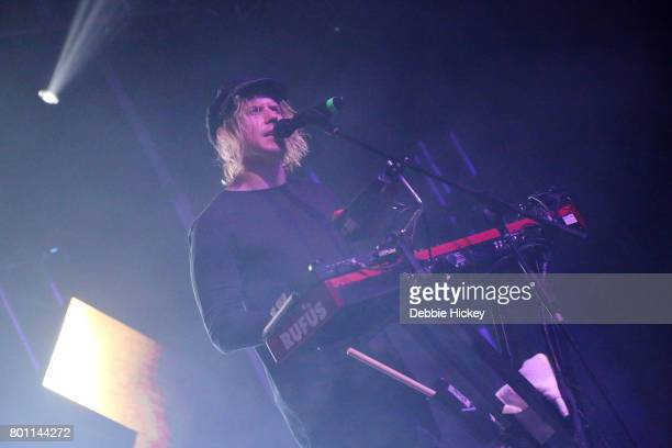 Tyrone Lindqvist of Rufus performs at Body Soul Festival at Ballinlough Castle on June 25 2017 in Co Westmeath Ireland