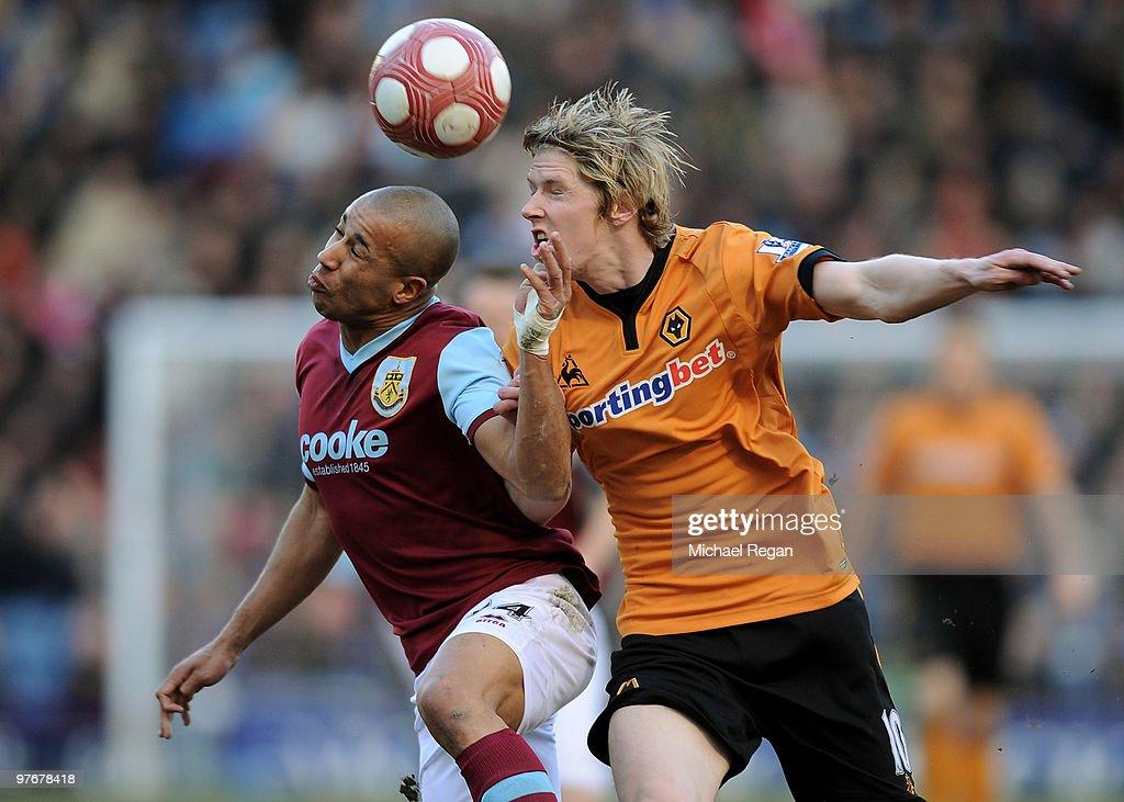 Burnley v Wolverhampton Wanderers - Premier League : News Photo