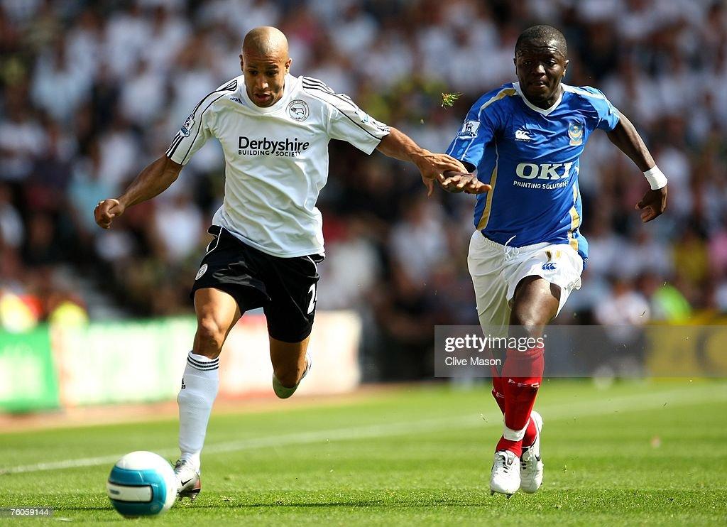 Derby County v Portsmouth - Barclays Premier League : News Photo