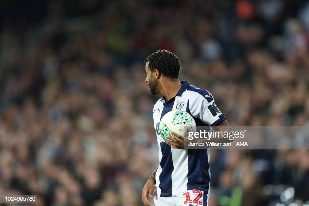 Tyrone Mears of West Bromwich Albion during the Carabao Cup Second Round match between West Bromwich Albion and Mansfield Town at The Hawthorns on...