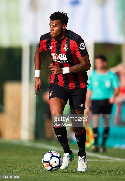Tyrone Mings of AFC Bournemouth in action during a Pre Season Friendly match between AFC Bournemouth and Estoril Praia at the Marbella Football...