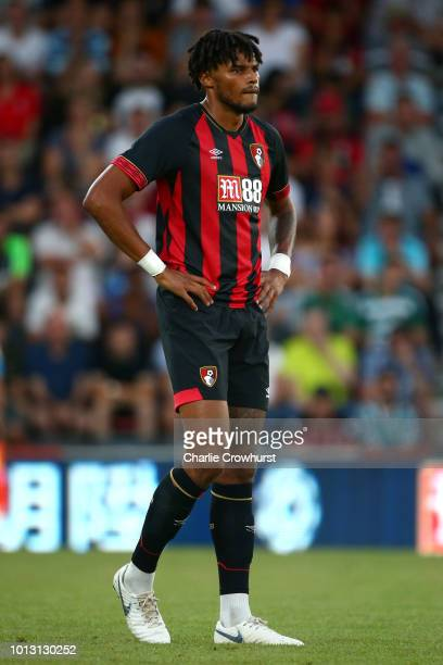 Tyrone Mings of AFC Bournemouth looks on during the PreSeason Friendly match between AFC Bournemouth and Real Betis at Vitality Stadium on August 3...