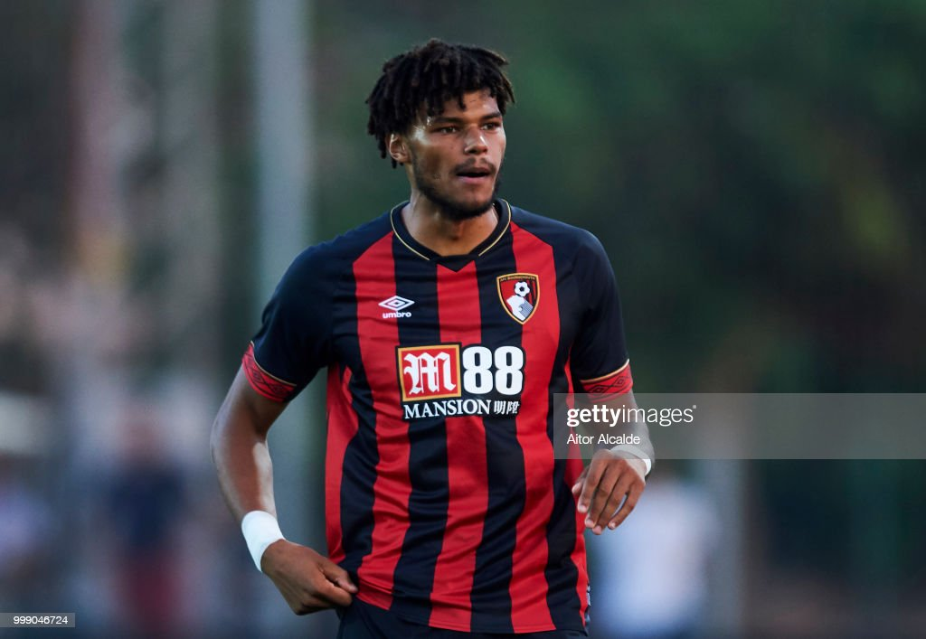 Tyrone Mings of AFC Bournemouth reacts during Pre- Season friendly Match between Sevilla FC and AFC Bournemouth at La Manga Club on July 14, 2018 in Murcia, Spain.