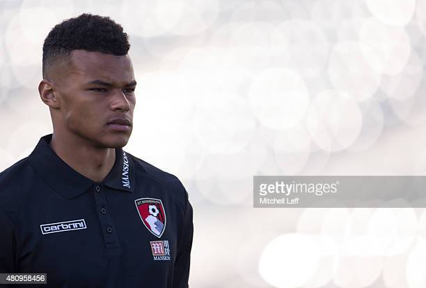 Tyrone Mings of AFC Bournemouth walks on the field prior to the friendly match against the Philadelphia Union on July 14 2015 at the PPL Park in...