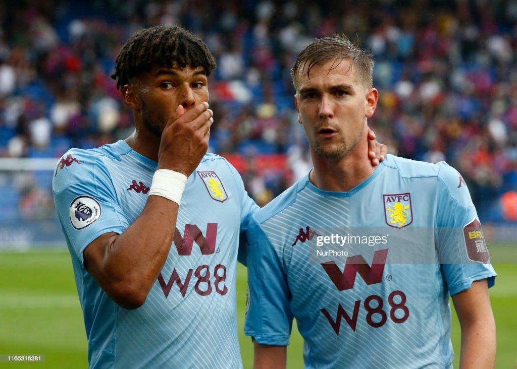 Crystal Palace v Aston Villa - Premier League : News Photo