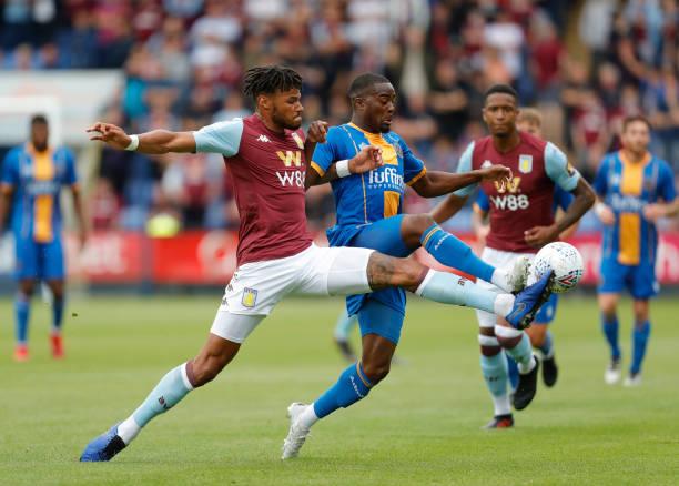 GBR: Shrewsbury Town v Aston Villa - Pre-Season Friendly