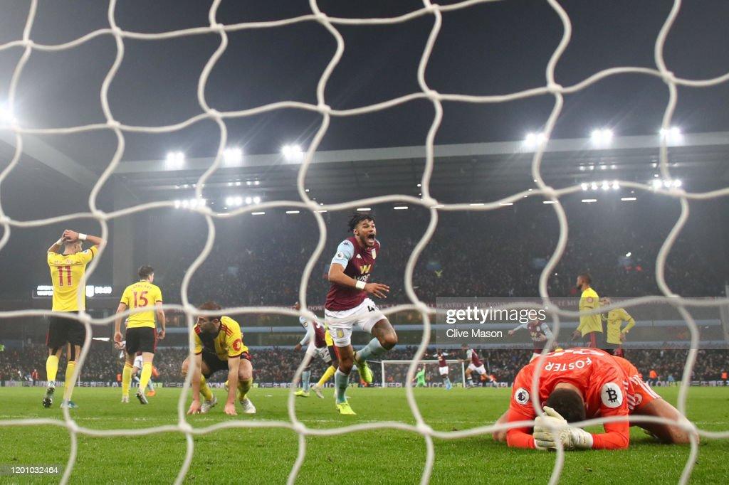 Aston Villa v Watford FC - Premier League : News Photo