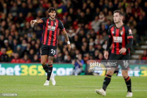 Tyrone Mings of Bournemouth during the Carabao Cup Third Round match between AFC Bournemouth and Blackburn Rovers at Vitality Stadium on September 25...