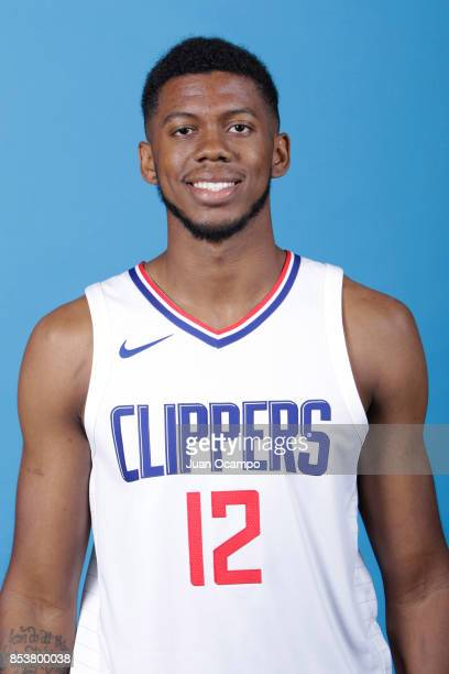 Tyrone Wallace of the Los Angeles Clippers poses for a portrait during 2017 Media Day on September 25 2017 at the Los Angeles Clippers Practice...
