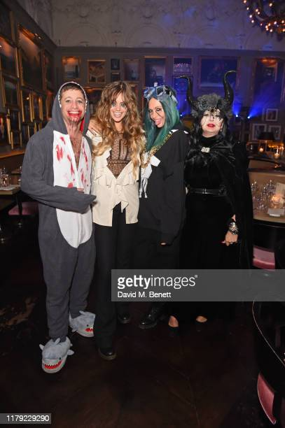 Tyrone Wood Jessica Clarke Poppy Delevingne and Fran Cutler attend The Cursed Voyage of HMS Berners in collaboration with Project 0 and Grey Goose at...