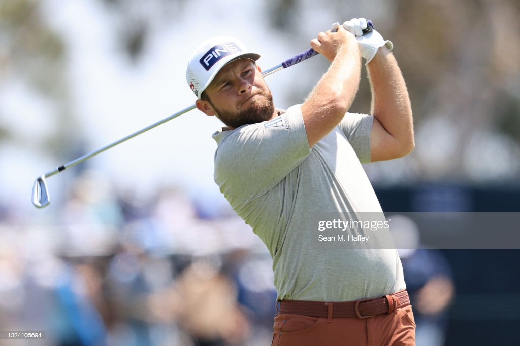 Tyrrell Hatton at the U.S. Open - Round One © Getty Images