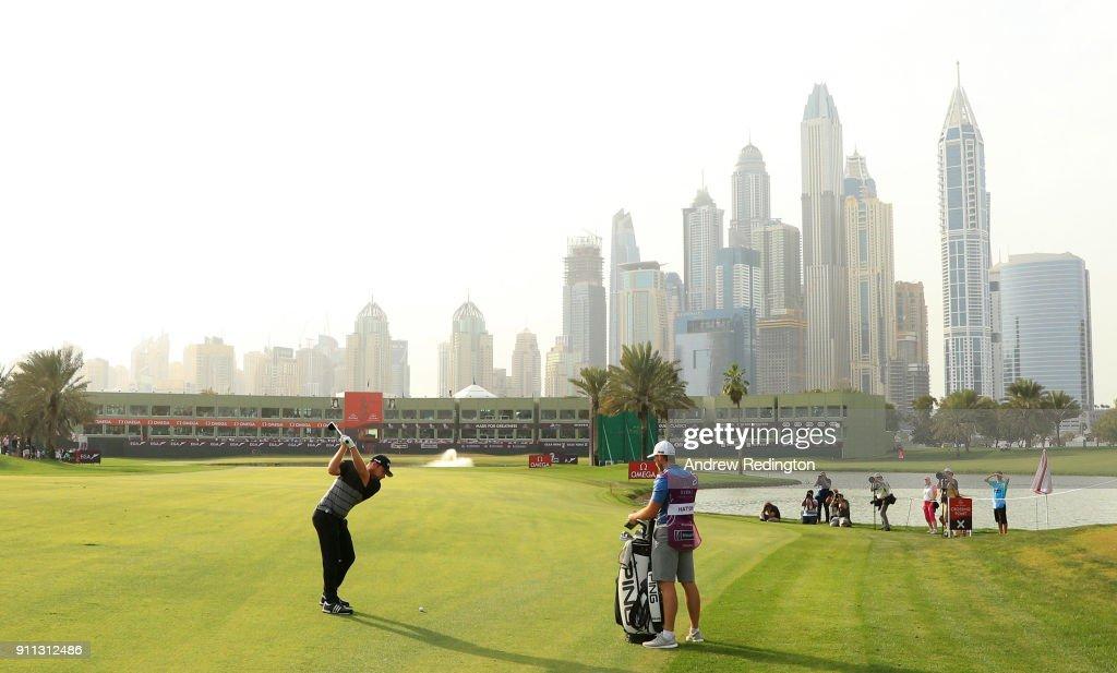 Omega Dubai Desert Classic - Day Four : ニュース写真