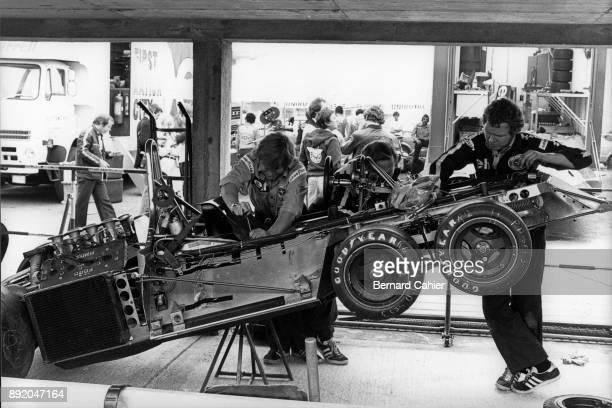 TyrrellFord P34 Grand Prix of Monaco Circuit de Monaco 30 May 1976 The Tyrrell P34 'Six Wheeler'