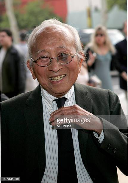 Tyrus Wong during 33rd Annual Annie Awards in Los Angeles California United States