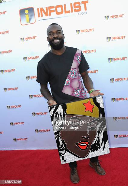 Tysen Knight attends InfoListcom's PreComicCon Bash held at Wisdome Immersive Art Park on July 11 2019 in Los Angeles California