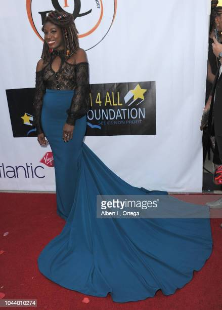 Tysha Williams arrives for 2nd Annual HAPAwards held at Alex Theatre on September 30 2018 in Glendale California