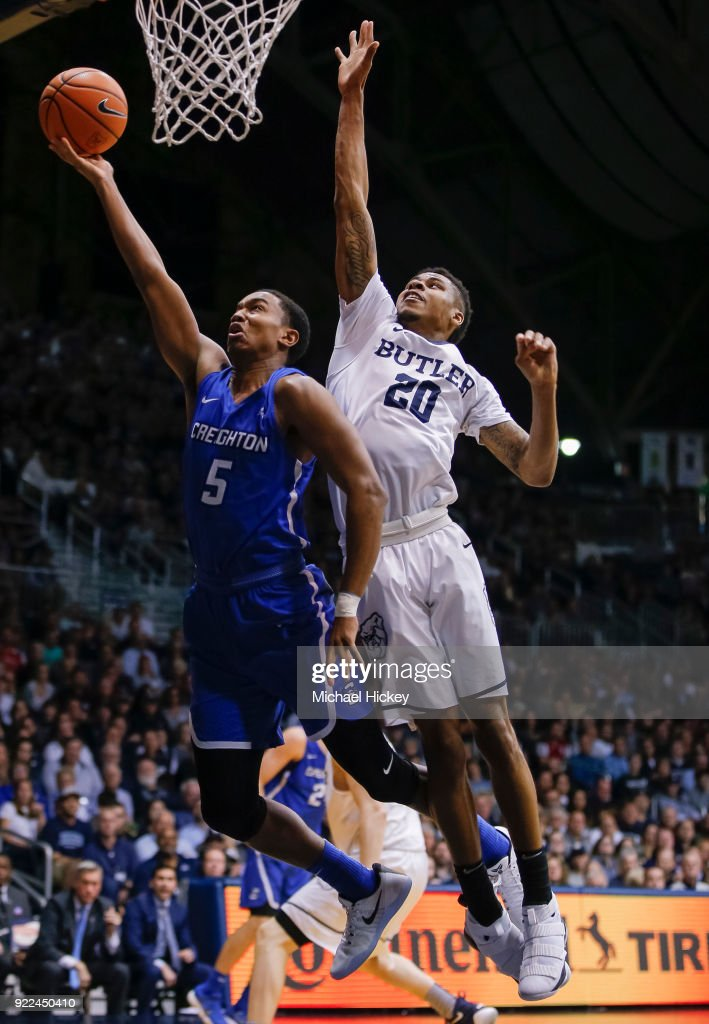 Creighton v Butler : News Photo