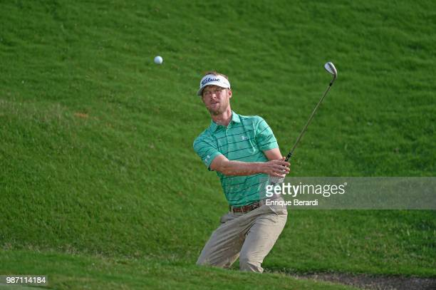 Tyson Alexander of the United States during the third round of the PGA TOUR Latinoamérica Guatemala Stella Artois Open at La Reunion Golf Resort...