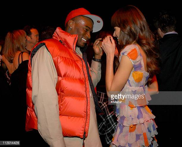 Tyson Beckford and Lindsay Frimodt during 9th Annual Victoria's Secret Fashion Show After Party at The New York State Armory in New York City New...