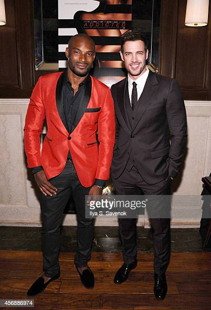 Tyson Beckford and William Levy attend Addicted New York Premiere After Party at Jade Hotel on October 8 2014 in New York City
