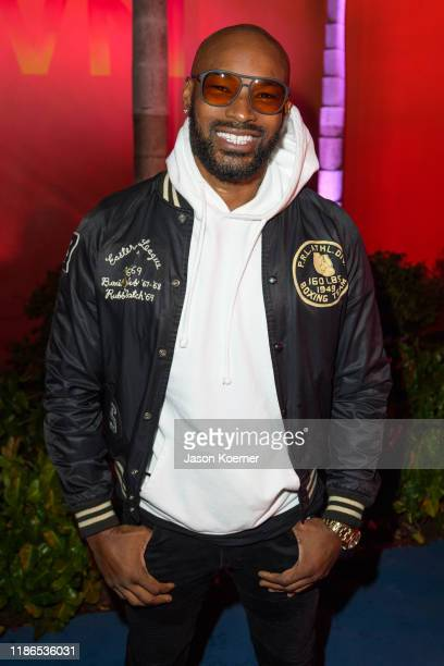 Tyson Beckford attends Art Basel Miami 2019 UNKNWN Wynwood Opening Party on December 4 2019 in Miami Florida