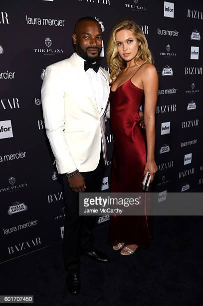 Tyson Beckford attends Harper's Bazaar's celebration of 'ICONS By Carine Roitfeld' presented by Infor Laura Mercier and Stella Artois at The Plaza...