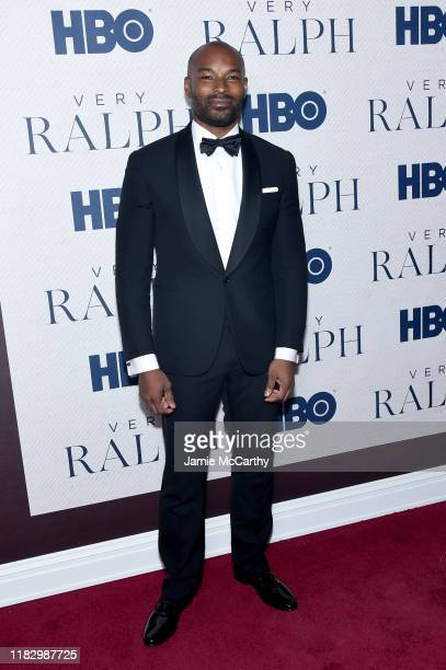 """Tyson Beckford attends HBO's """"Very Ralph"""" World Premiere at The Metropolitan Museum of Art on October 23, 2019 in New York City."""
