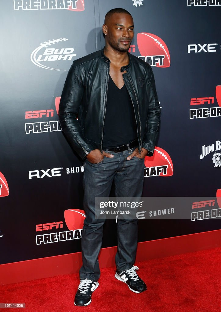 Tyson Beckford attends the 10th Annual ESPN The Magazine Pre-Draft Party>> at The IAC Building on April 24, 2013 in New York City.