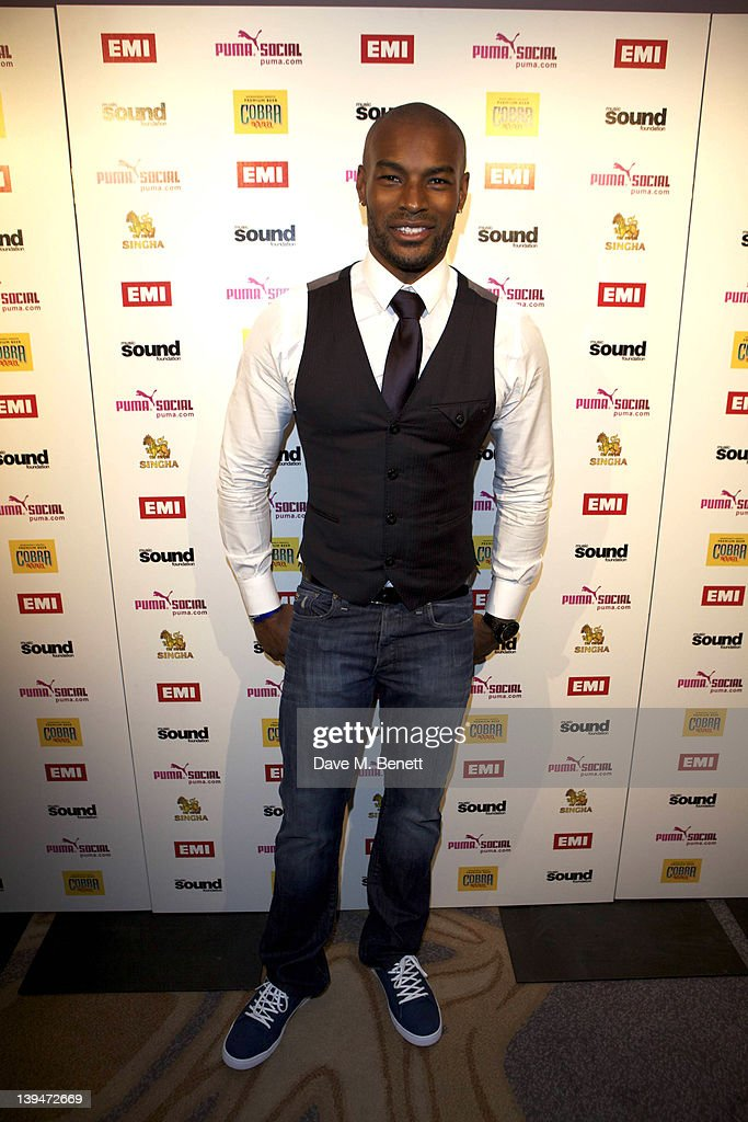 Tyson Beckford attends The EMI Puma Cobra post BRIT awards party at the O2 on February 21, 2012 in London, England.