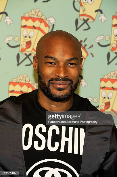 Tyson Beckford attends the Jeremy Scott x Google Launch Party on November 10 2016 in New York City