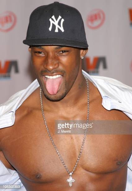 Tyson Beckford during 2003 Vibe Awards Arrivals at Santa Monica Civic Auditorium in Santa Monica California United States