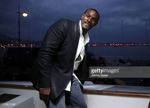 Tyson Beckford during 2005 Cannes Film Festival - D&G Afterparty at Mediterranean Sea in Cannes, Nice, France.