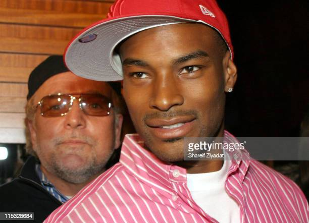 Tyson Beckford during AOL Music Broadband Rocks Live Concert With Usher - After Party at Boulevard in New York City, New York, United States.