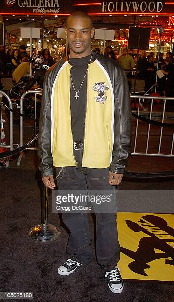 Tyson Beckford during 'Biker Boyz' Premiere at Mann's Chinese Theatre in Hollywood California United States