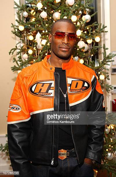 """Tyson Beckford during Lloyd Boston's Book Launch Party for """"Make Over Your Man: A Woman's Guide to Dressing Any Man in Her Life"""" at Tommy Hilfiger..."""