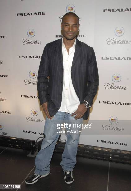 Tyson Beckford during Melania Trump Unveils The 2007 Cadillac Escalade to The Fashion World at Milk Studios in New York City, New York, United States.