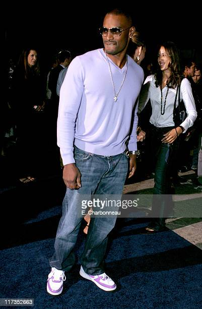 """Tyson Beckford during MGM Pictures and Columbia Pictures """"Into the Blue"""" Premiere - Red Carpet at Mann Village in Westwood, California, United States."""