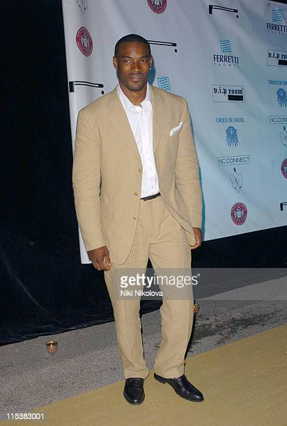 Tyson Beckford during Naomi Campbell Birthday Party - Arrivals in Cannes, France.